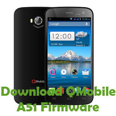 Download QMobile A51 Firmware