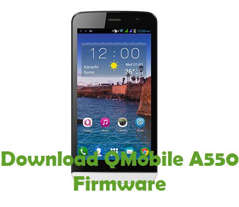 Download QMobile A550 Firmware