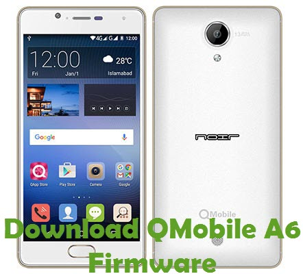 Download QMobile A6 Firmware