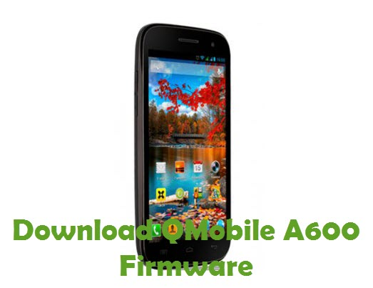Download QMobile A600 Firmware