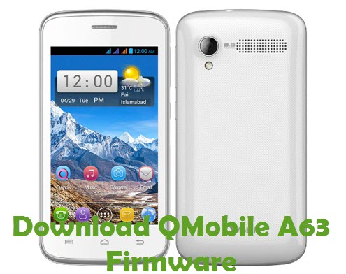 Download QMobile A63 Firmware