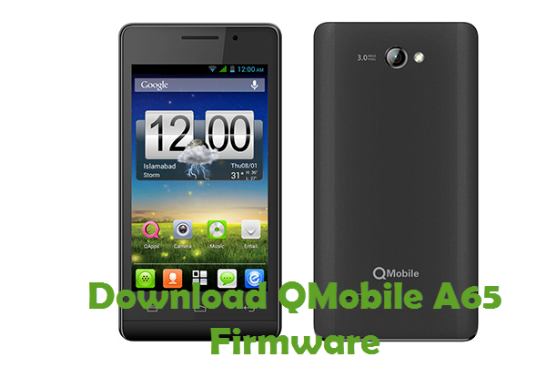 Download QMobile A65 Firmware