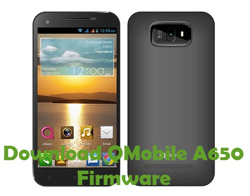 Download QMobile A650 Firmware