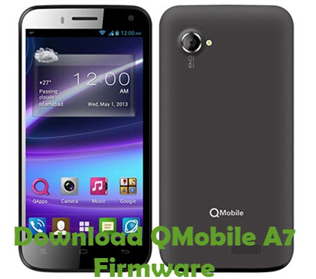 Download QMobile A7 Firmware