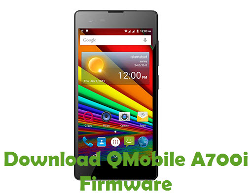 Download QMobile A700i Firmware