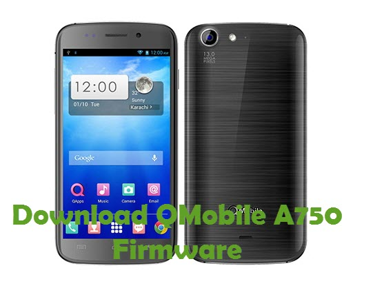 Download QMobile A750 Firmware