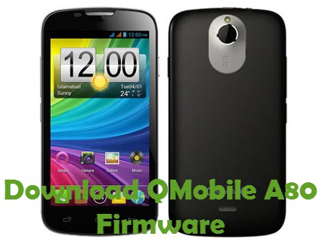 Download QMobile A80 Firmware