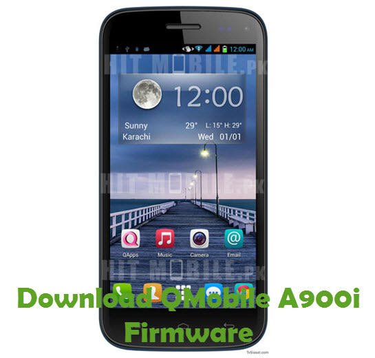 Download QMobile A900i Firmware