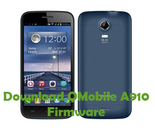 Download QMobile A910 Firmware
