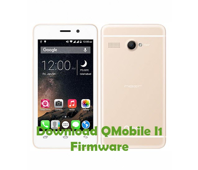 Download QMobile I1 Firmware