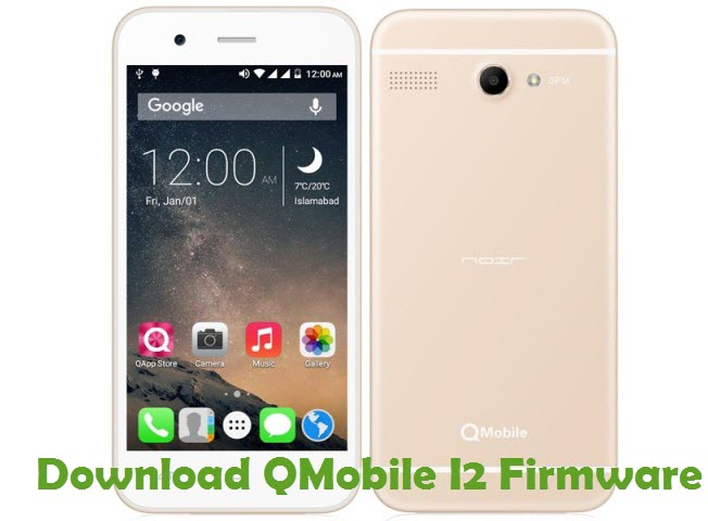 Download QMobile I2 Firmware