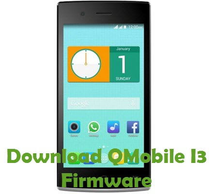 Download QMobile I3 Firmware