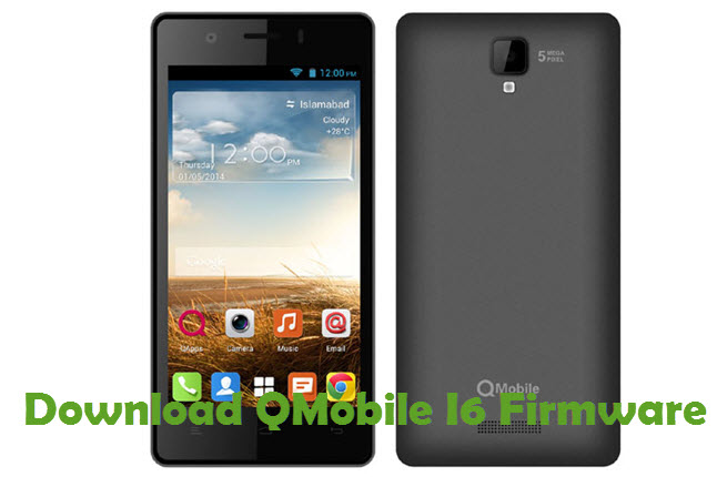 Download QMobile I6 Firmware