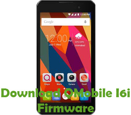 Download QMobile I6i Firmware