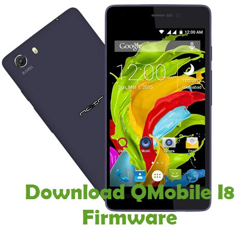 Download QMobile I8 Firmware