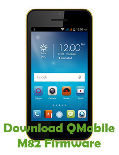 Download QMobile M82 Firmware