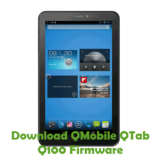 Download QMobile QTab Q100 Firmware