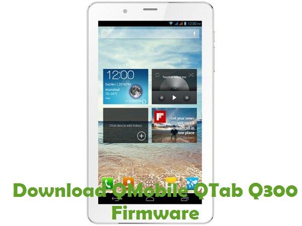 Download QMobile QTab Q300 Firmware