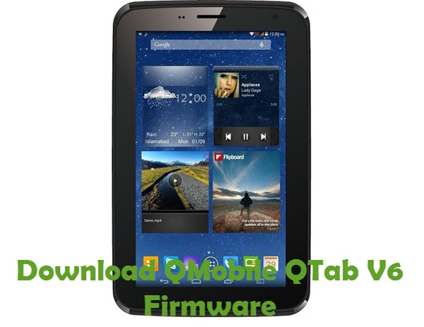 Download QMobile QTab V6 Firmware