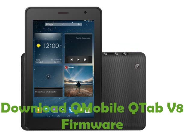 Download QMobile QTab V8 Firmware