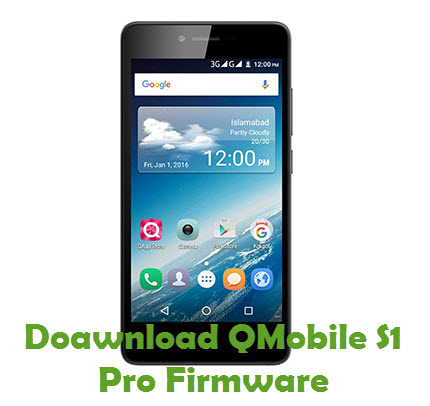Download QMobile S1 Pro Firmware