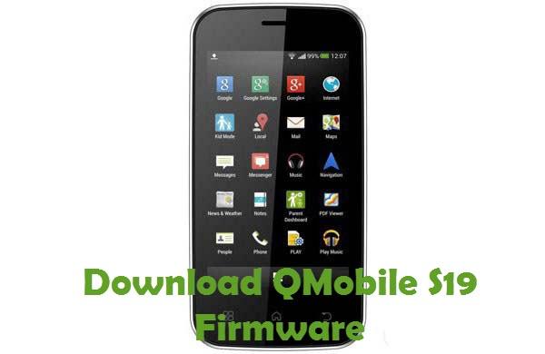 Download QMobile S19 Firmware
