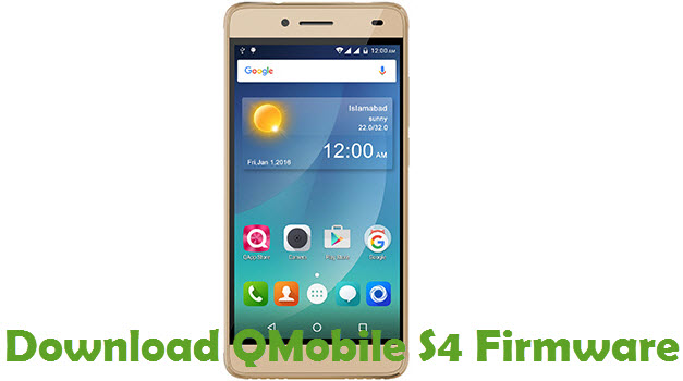 Download QMobile S4 Firmware