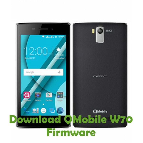 Download QMobile W70 Stock ROM