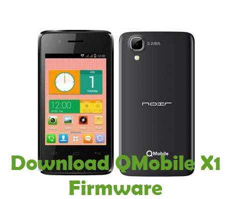 Download QMobile X1 Firmware