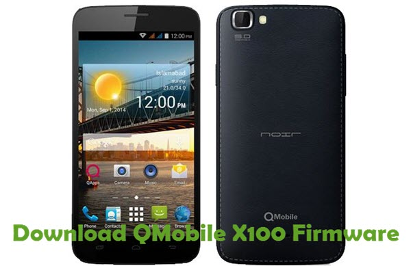 Download QMobile X100 Firmware