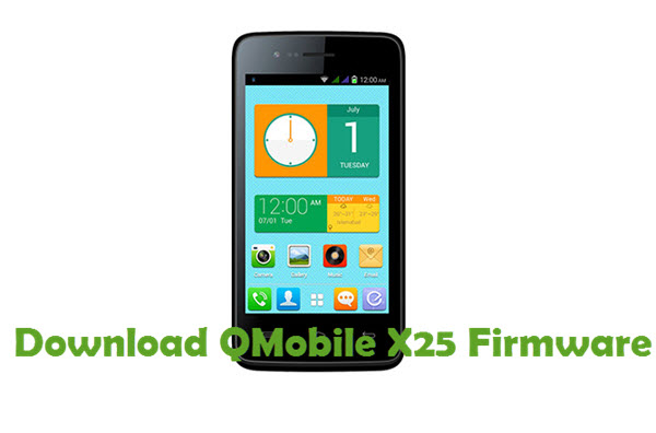 Download QMobile X25 Firmware