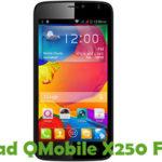 QMobile X250 Firmware
