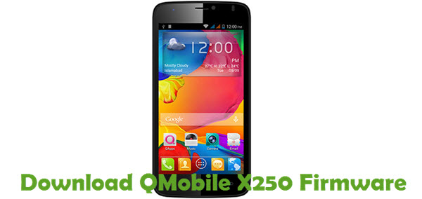 Download QMobile X250 Firmware