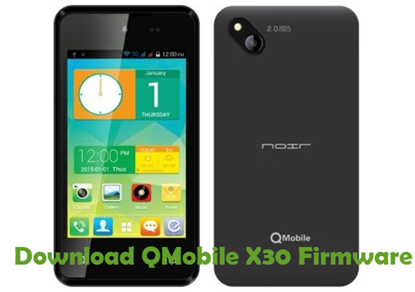 Download QMobile X30 Firmware
