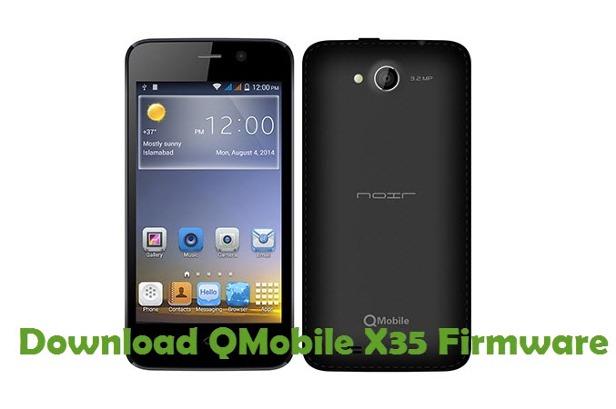 Download QMobile X35 Firmware
