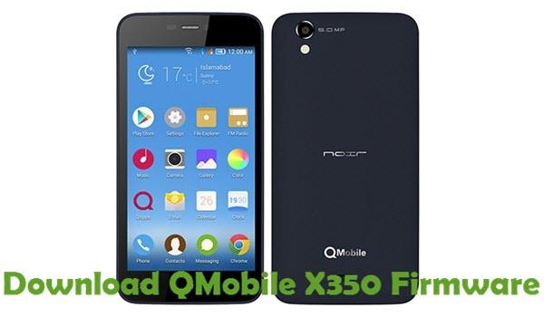 Download QMobile X350 Firmware