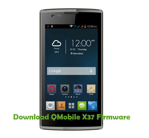 Download QMobile X37 Firmware
