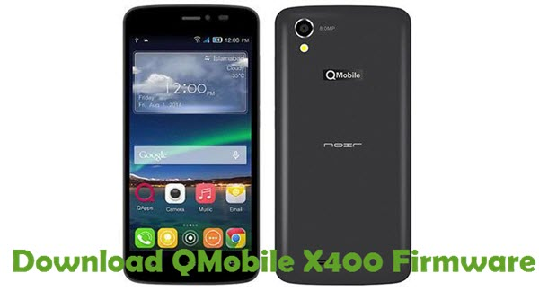 Download QMobile X400 Firmware