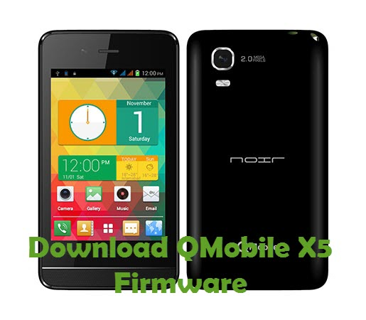 Download QMobile X5 Firmware