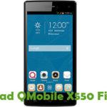QMobile X550 Firmware