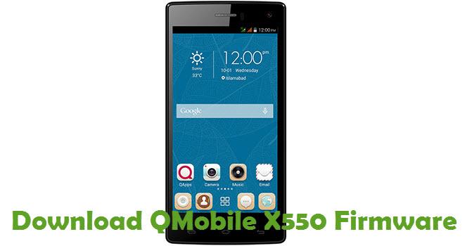 Download QMobile X550 Firmware