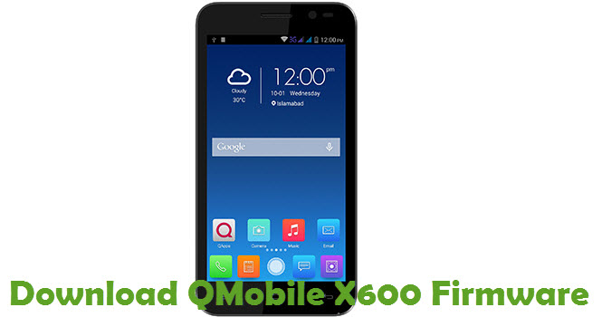 Download QMobile X600 Firmware