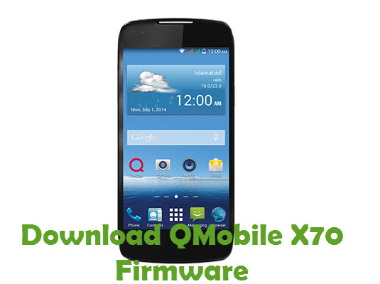 Download QMobile X70 Firmware