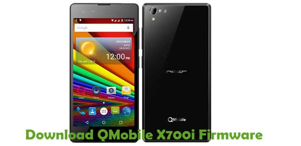 Download QMobile X700i Firmware