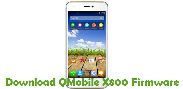 Download QMobile X800 Firmware