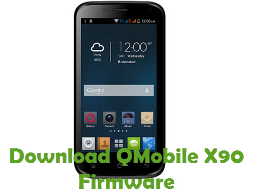 Download QMobile X90 Firmware