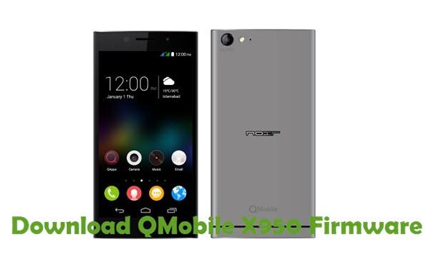 Download QMobile X950 Firmware