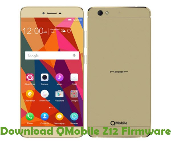 Download QMobile Z12 Firmware