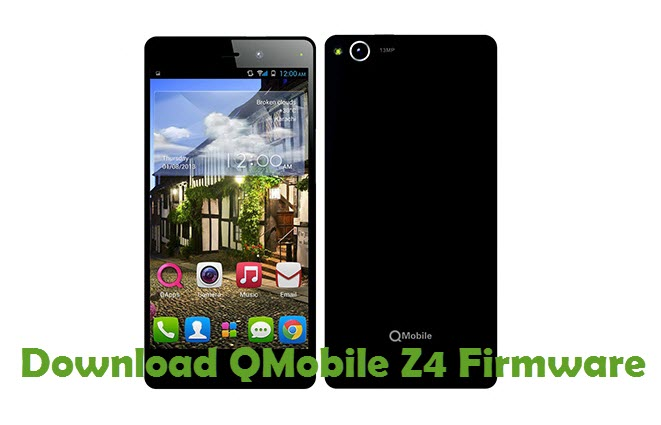 Download QMobile Z4 Firmware