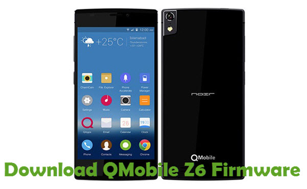 Download QMobile Z6 Firmware